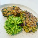 Chia and Corn Fritters